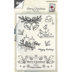 Cleartamp - Christmas Candles/Bells - Aug.17 - 148x105 mm