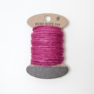 Hamp HA112 cerise 2mm 10m