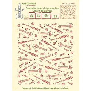 Embossing folder background Tools  14.4x16cm