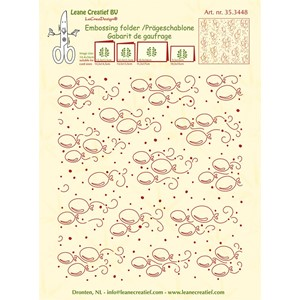 Embossing folder background Balloons 14.4x16cm