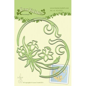 Leabilitie Daffodil & swirls cut and embossing die