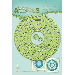 Leabilitie Frame circles cut and embossing die