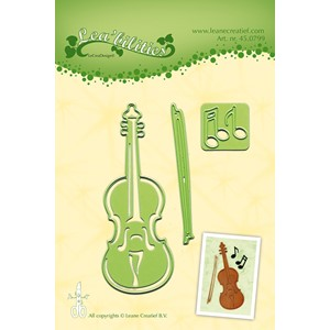 Leabilitie Violin cut and embossing die