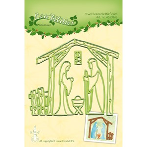 Leabilitie Nativity scene  cut and embossing die al