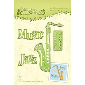 Leabilitie Saxophone cut and embossing die