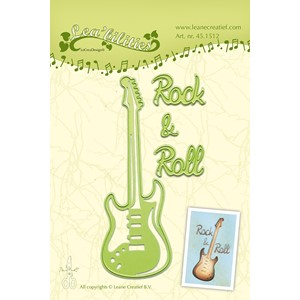 Leabilitie Guitar cut and embossing die