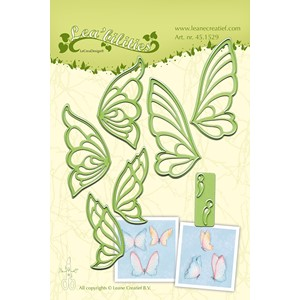 Leabilitie Butterflies cut and embossing die