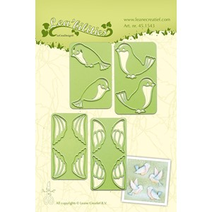 Leabilitie small Birds cut and embossing die