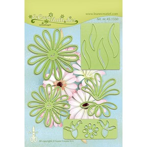 Leabilitie Multi die flower 9 Chrysant  cut and embossing d