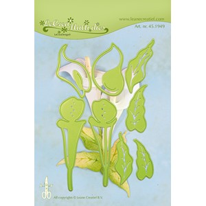 Leabilitie Multi die flower 10 Calla cut and embossing die