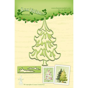 Christmas Tree cut and embossing die