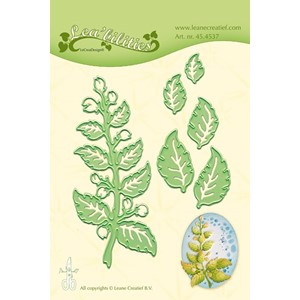 Leabilitie Twig & Leaves cut and embossing die mal