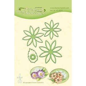 Leabilitie Easy flower die 001 cut and embossing die