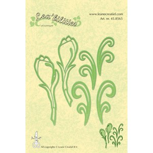 Leabilitie Flowers cut and embossing die -