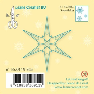 Clear stamp Star    -