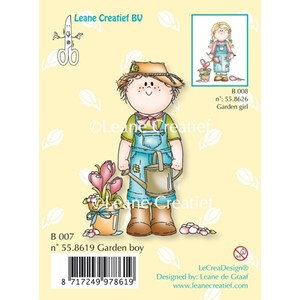 Clear stamp Bambini rose boy-  -