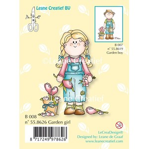 Clear stamp Bambini rose girl- -