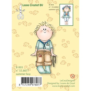 Clear stamp Bambini Summer boy-  50%