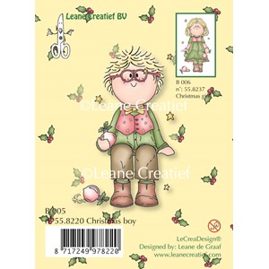 Clear stamp Bambini Christmas boy--  50%