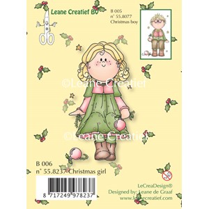 Clear stamp Bambini Christmas girl--  50%