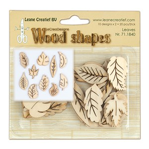 Wood shapes Leaves