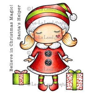 Paper Doll Marci - Christmas Elf