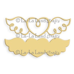 Winged Heart (Set of 2)