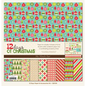 Paper & Accessories Kit, 12 days of chrismas
