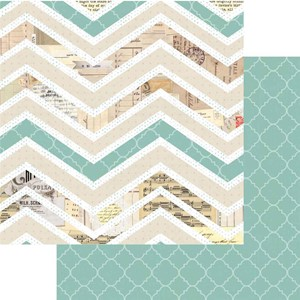 All Is Bright Chevron Paper