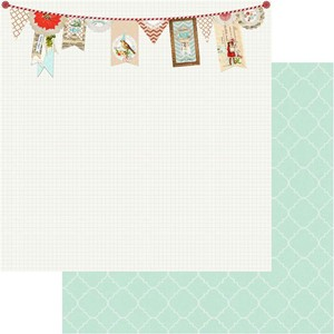 All Is Bright Noel Banner Paper