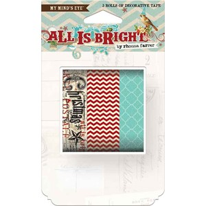 All Is Bright Decorative Tape