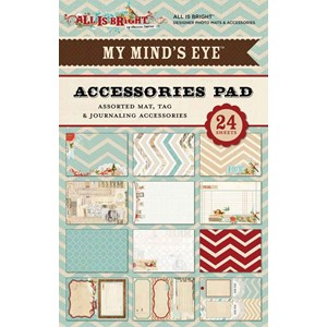 All Is Bright 4x6 Accessories Pad