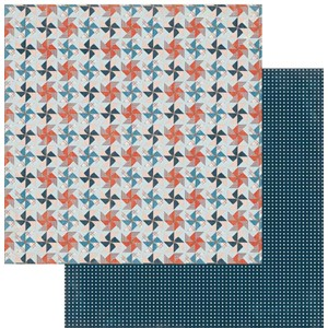 American made Pieced Pinwheels Paper