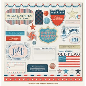 American made Accessory Sheet