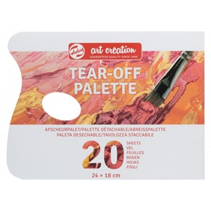 Art Creation Tear-off palette