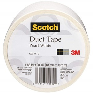 Pearl White Scotch Duct Tape