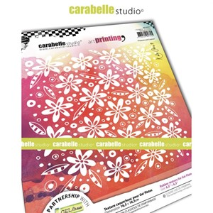 """Carabelle Studio - Art Printing Carre Flowers and leaves by"