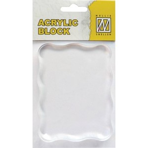 Acrylic block 70 x 90x 8 mm