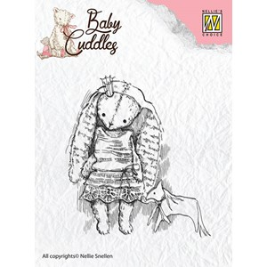 Clear Stamps Baby Cuddles Princess Rabbit