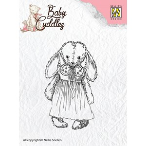 Clear Stamps Baby Cuddles Cuddly girl