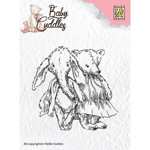 Clear Stamps Baby Cuddles cuddly friends