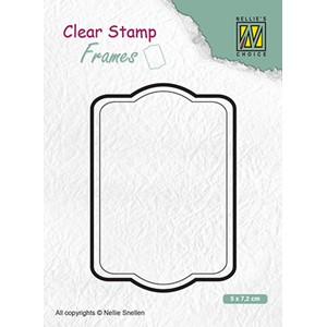 Clear Stamps Frames rectangle