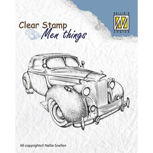 Clear stamps Men Things Oldtimer