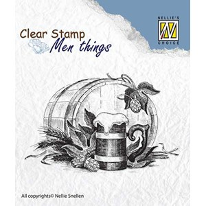 Clear stamps Men Things Beer
