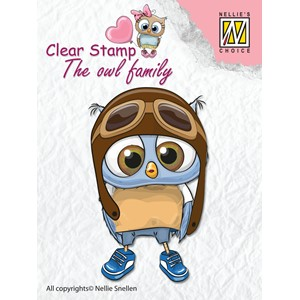 Clear Stamps The owl Family pilot - Feb.18
