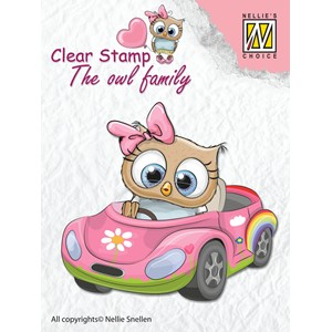 Clear Stamps The owl Family car - Feb.18