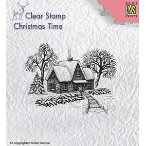 Clear Stamps Idyllic winter scene