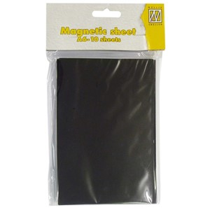 Magnetic sheets C6 (10 sheets)