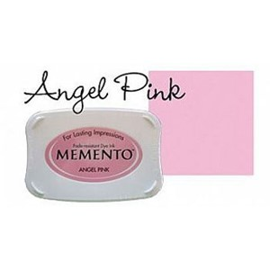 Inkpad Large Memento Angel pink
