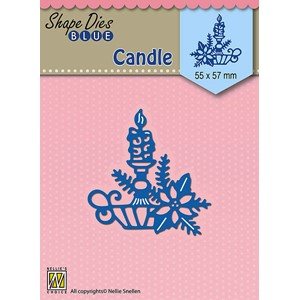Christmas candle  55x57mm